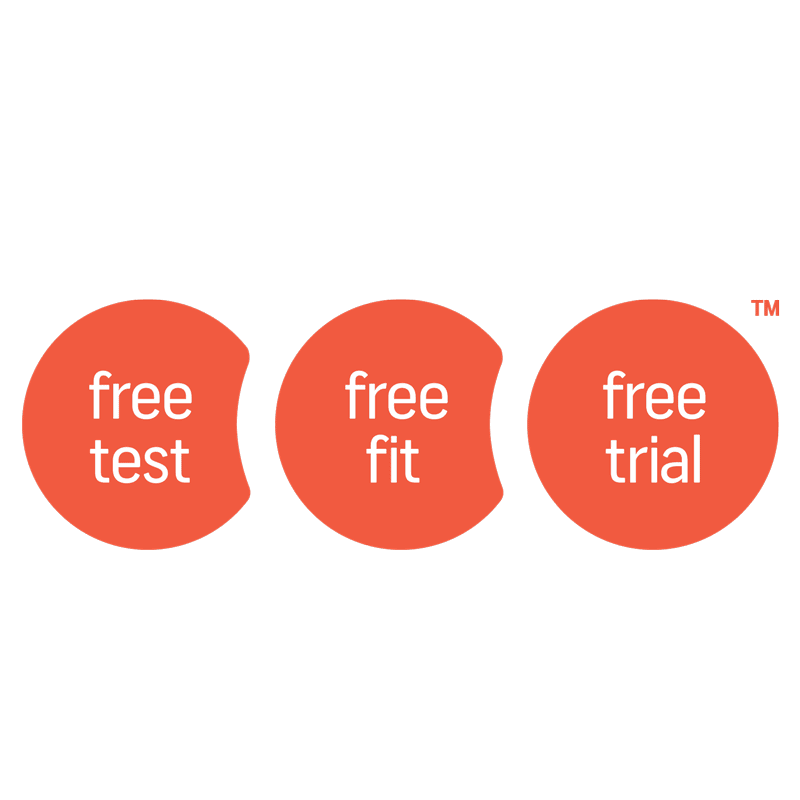 Free test, fit and trial of all Widex hearing aids