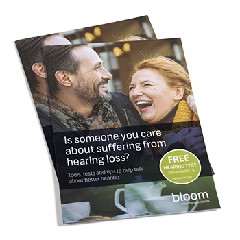 Download free guide with tips on how to talk about hearing loss