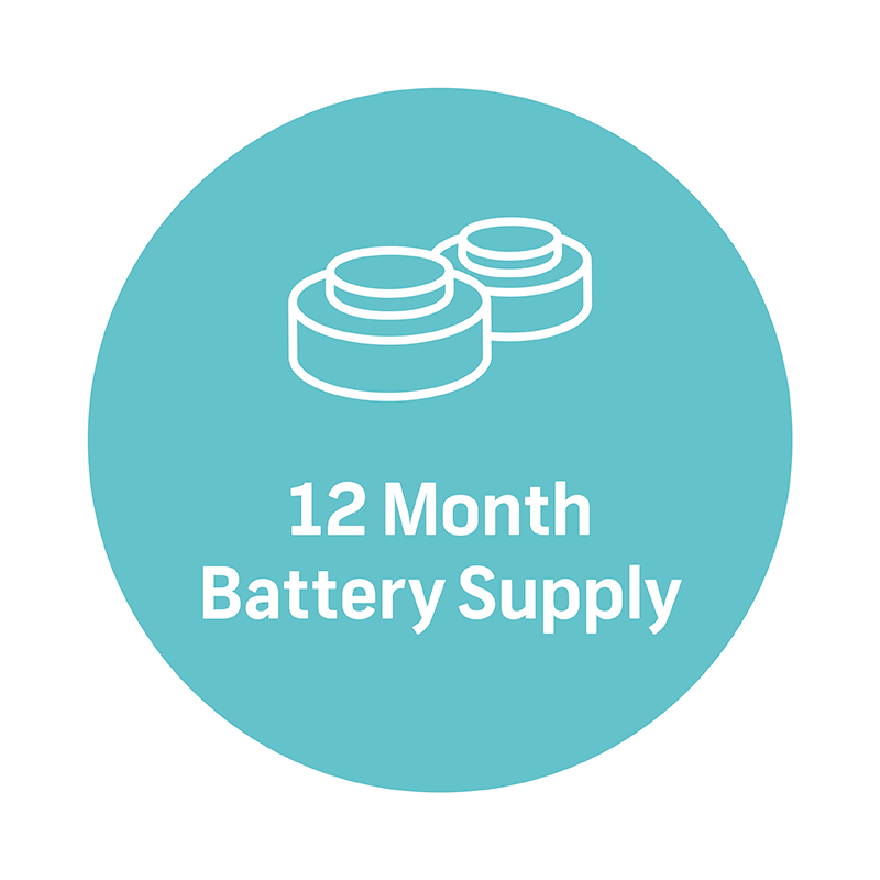 12 month battery supply