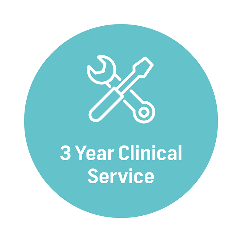 3 year clinical service