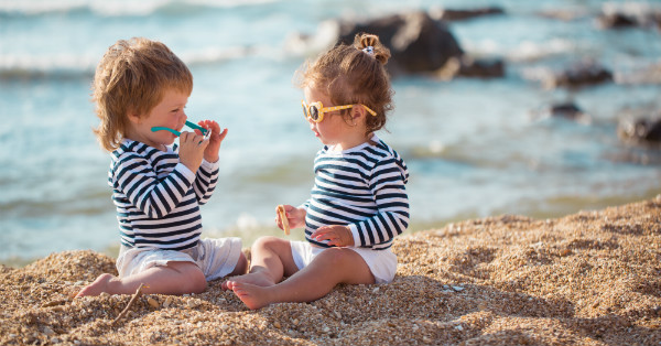 Hearing protection tips for kids on the beach in summer