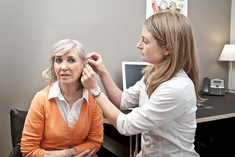 Free hearing aids and loss test from hearing specialist